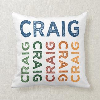 Craig Cute Colorful Pillow
