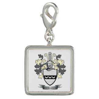 Craig Family Crest Coat of Arms Charms