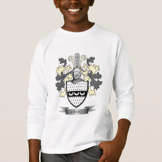 Craig Family Crest Coat of Arms T-Shirt