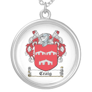 Craig Family Crest Custom Necklace