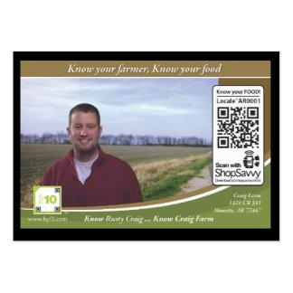 Craig Farm Traceable Shelftalker Large Business Card