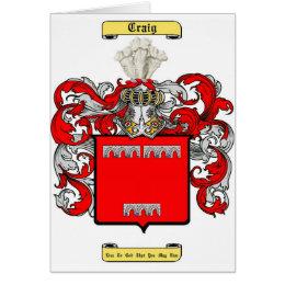 craig (irish) card