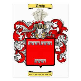 craig (irish) postcard