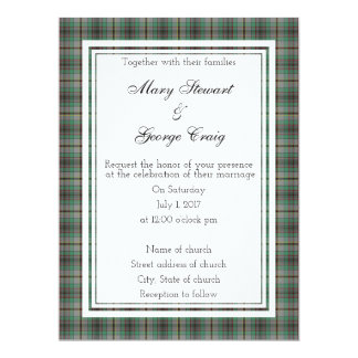 Craig Scottish Wedding Invitation