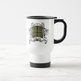 Craig Tartan Shield Coffee Mug
