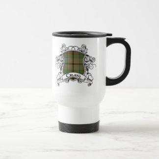 Craig Tartan Shield Travel Mug