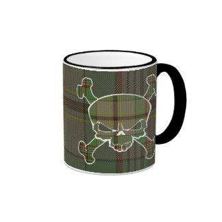 Craig Tartan Skull No Banner Mug