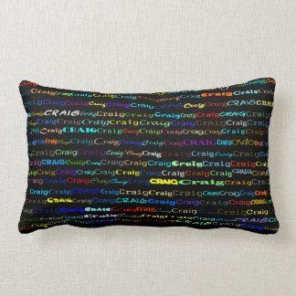 Craig Text Design I Lumbar Pillow