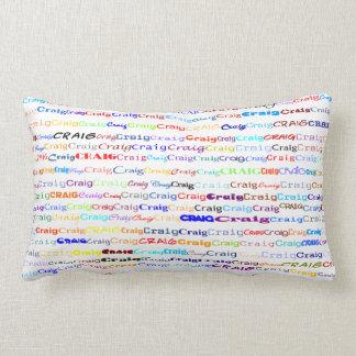 Craig Text Design II Lumbar Pillow