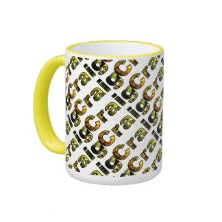 Craig Yellow Style 15 oz Ringer Mug