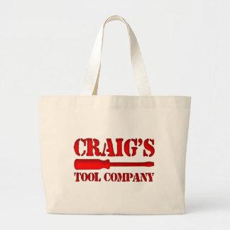 Craig's Tool Company Large Tote Bag