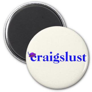 craigslust imán redondo 5 cm