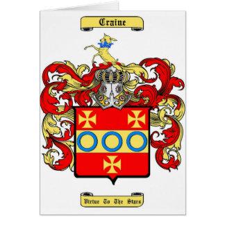craine card