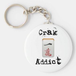 Crak Addict Keychain