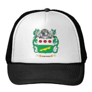 Crake Coat of Arms Mesh Hat