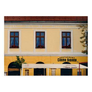 Crama Sibiana, Sibiu Tarjetas De Visita Grandes