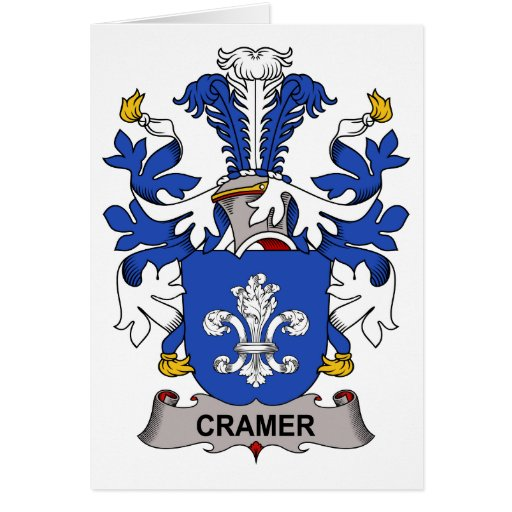 Cramer Family Crest Greeting Card