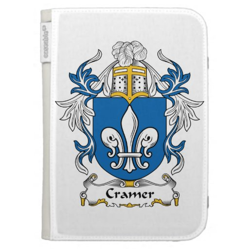 Cramer Family Crest Kindle Covers