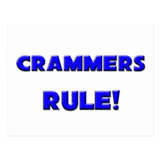 Crammers Rule! Postcard