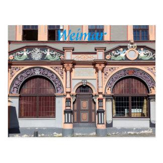 Cranach House in Weimar photo Postcard