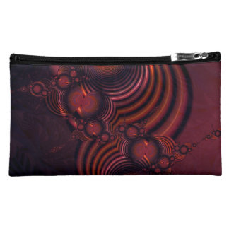 Cranberries and Cinnamon Cosmetic Bags