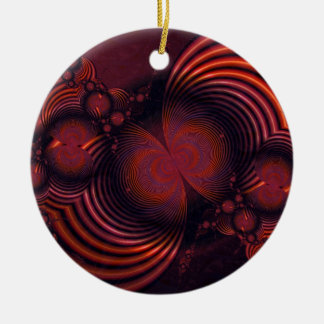 Cranberries and Cinnamon Ornament