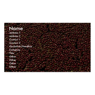 Cranberries at harvest, Plymouth, Massachusettes, Business Card Templates