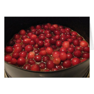 Cranberries Greeting Cards