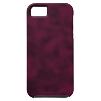 Cranberry and Black Mottled iPhone 5 Cover