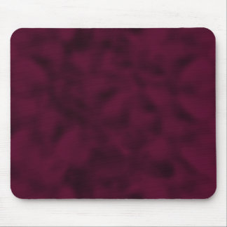Cranberry and Black Mottled Mouse Pad