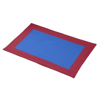Cranberry and Blueberry-Colored Placemat