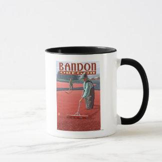 Cranberry Bogs Harvest - Bandon, Oregon Mug