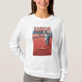 Cranberry Bogs Harvest - Bandon, Oregon T-Shirt