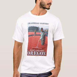 Cranberry Bogs Harvest - Port Orford, Oregon T-Shirt