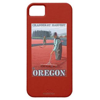Cranberry Bogs Harvest Vintage Travel Poster iPhone SE/5/5s Case