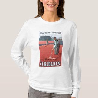 Cranberry Bogs Harvest Vintage Travel Poster T-Shirt