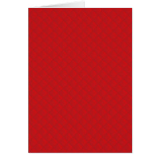 Cranberry Christmas Red Quilted Pattern Greeting Card