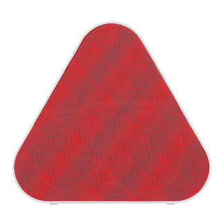 Cranberry Christmas Red Quilted Pattern Speaker