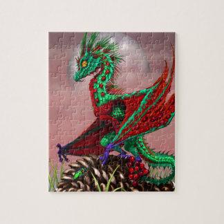 Cranberry Dragon Jigsaw Puzzle