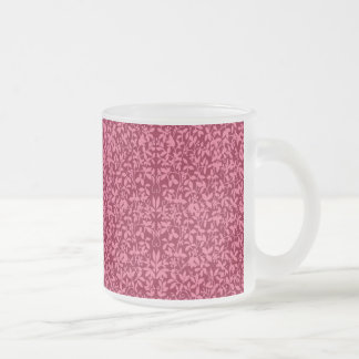 Cranberry Filigree Vines Mug