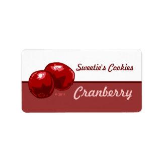 Cranberry Labels