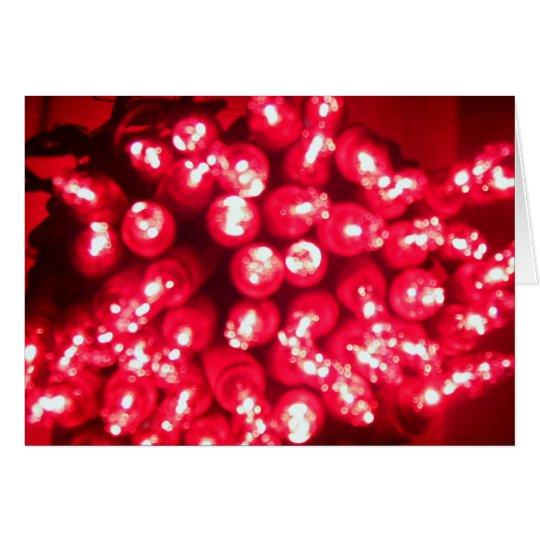 cranberry lights card
