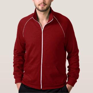 Cranberry Men's Fleece Track Jacket