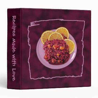 Cranberry Orange Relish Binder