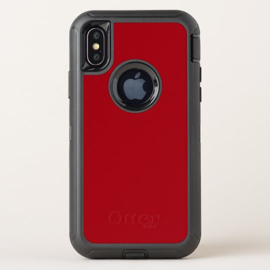 reputable site 54a9c 326a5 Cranberry Red OtterBox Defender iPhone XS Case