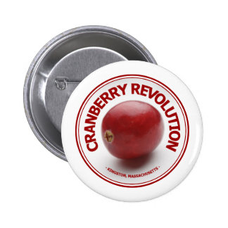 Cranberry Revolution Pinback Button