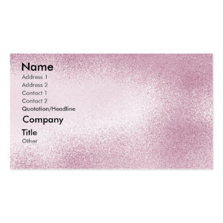 Cranberry - shaded business card template