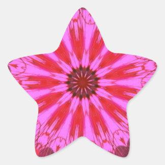 Cranberry Splash Star Sticker
