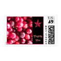 Cranberry Thank You Stamp