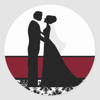 Cranberry Wedding Couple Seals